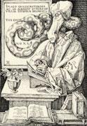 Desiderius Erasmus - funny giraffe cartoon