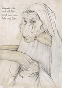 Albrecht Durer mother as giraffe