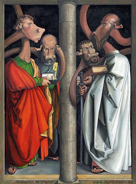 The four Apostele - after Albrecht Dürer