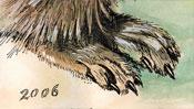 Young Hare after Albrecht Dürer (Detail 5)