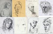 Pencil drawing portraits