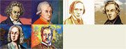Speedpainting art, famous composer