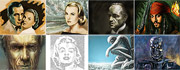 Speedpaintings, Icons of pop art