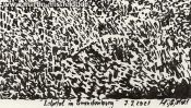 Lobetal in Brandenburg, landscape drawing (Detail 5)