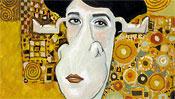 Adele Bloch-Bauer - Gustav Klimt (Detail 1)