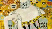 Adele Bloch-Bauer - Gustav Klimt (Detail 2)