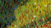 Walk with parasol – after Claude Monet (Detail 4)