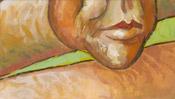 Selfportrait without ear - Vincent van Gogh (Detail 2)