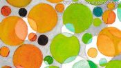 Watercolor painting: Color Vision Test A-Z (Detail 2)