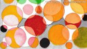 Watercolor painting: Color Vision Test A-Z (Detail 3)