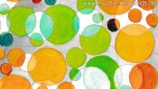 Watercolor painting: Color Vision Test A-Z (Detail 4)