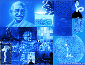 : Bluepaintings - blue images