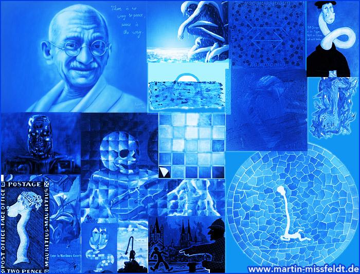 Bluepaintings - blue images