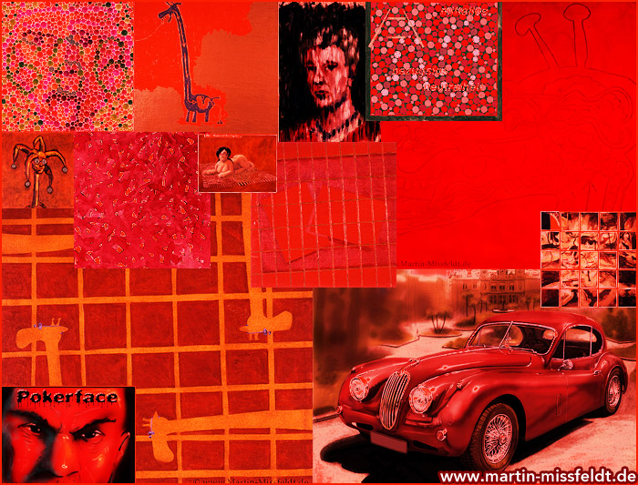 Redpaintings (red images)
