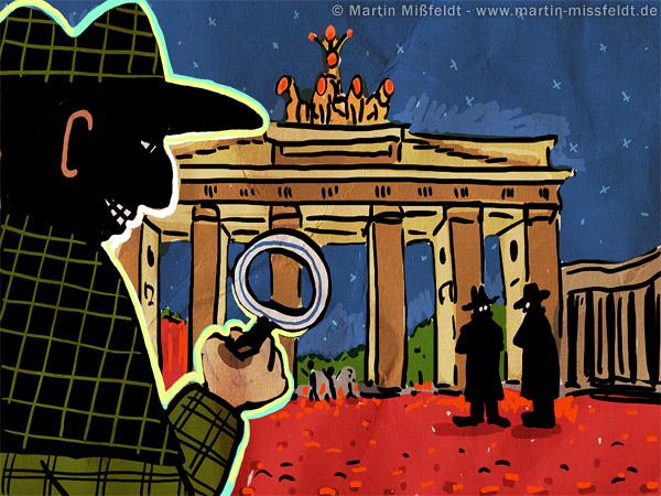 Detective in Berlin
