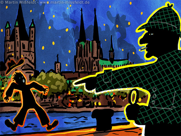 Detective in Cologne