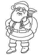 : Color model: Santa Claus