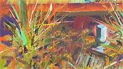 Oil paints on canvas