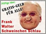 Frank Walter Steinmeier (SPD) funny caricature