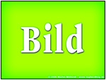 : Image with the word BILD