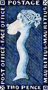 : The blue Mauritius, Stamp-giraffe
