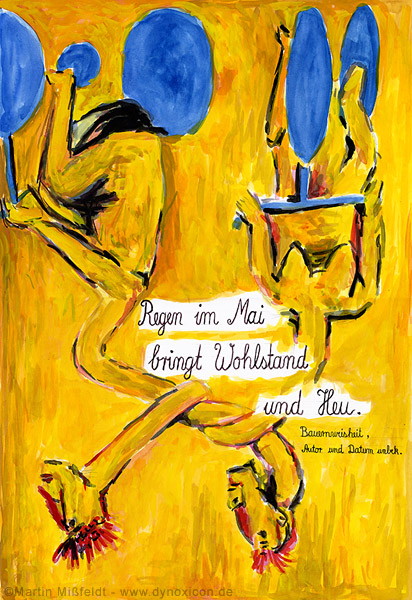 Girls from Olmo – after Georg Baselitz