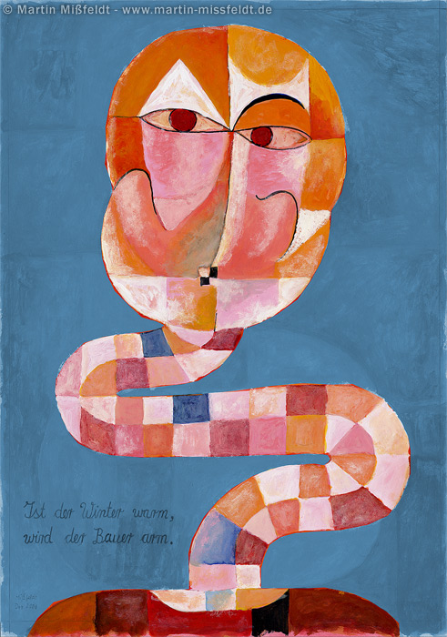 Nearly-old (after Paul Klee)