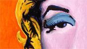 Shot Orange Marilyn (popart) - after Andy Warhol (Detail 1)