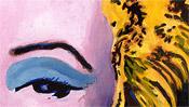 Shot Orange Marilyn (popart) - after Andy Warhol (Detail 2)