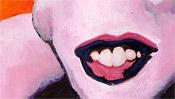 Shot Orange Marilyn (popart) - after Andy Warhol (Detail 3)