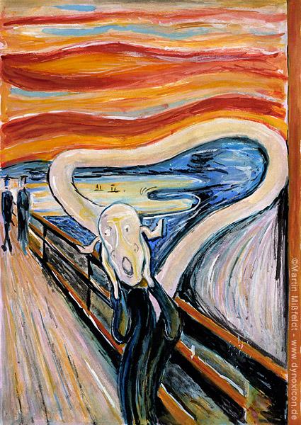 The Scream (after Edvard Munch)