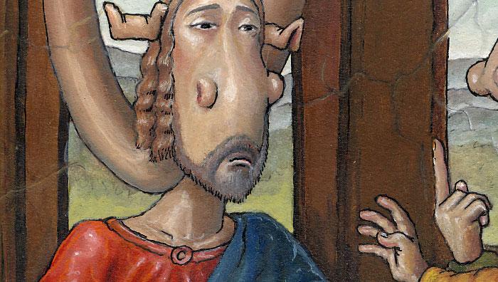 Jesus | Art cartoon