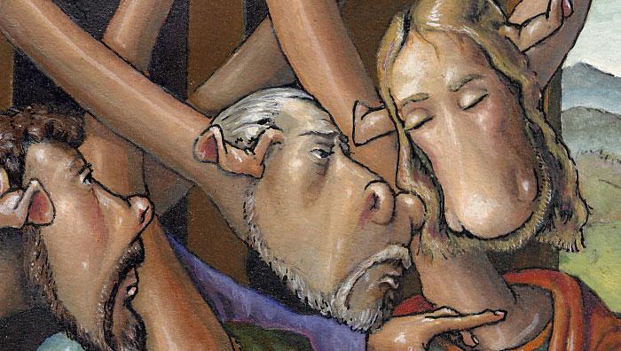 The Last Supper - after Leonardo da Vinci (Detail 1)