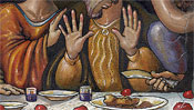 The Last Supper - after Leonardo da Vinci (Detail 3)