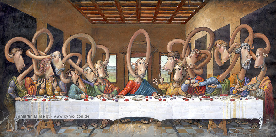 The Last Supper - after Leonardo da Vinci