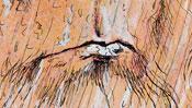 Leonardo da Vinci Portrait (Detail 2)