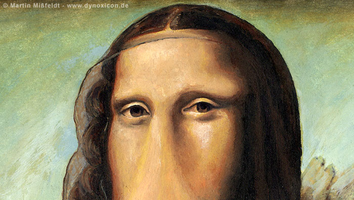 Mona Lisa after Leonardo da Vinci (Detail 1)