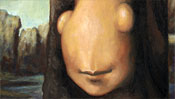 Mona Lisa after Leonardo da Vinci (Detail 2)