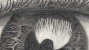 Drawing of an eye (2) (Detail 3)