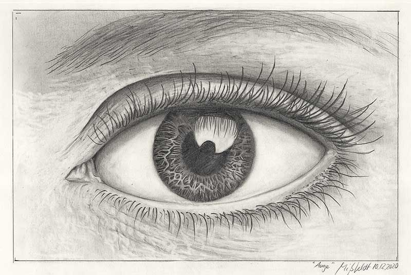 Drawing of an eye (2)