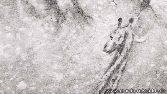Pencil drawing: Desire (Art) (Detail 1)