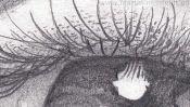Pencil Drawing Realistic Eye (Detail 1)