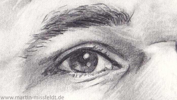 Portrait of Magnus Carlsen (Detail 1)