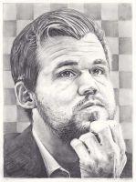 Portrait of Magnus Carlsen