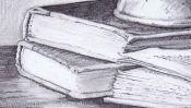 Vanitas Still Life (pencil drawing) (Detail 3)
