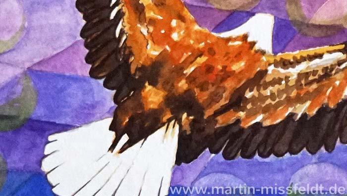 Eagle to Sun (Detail 1)