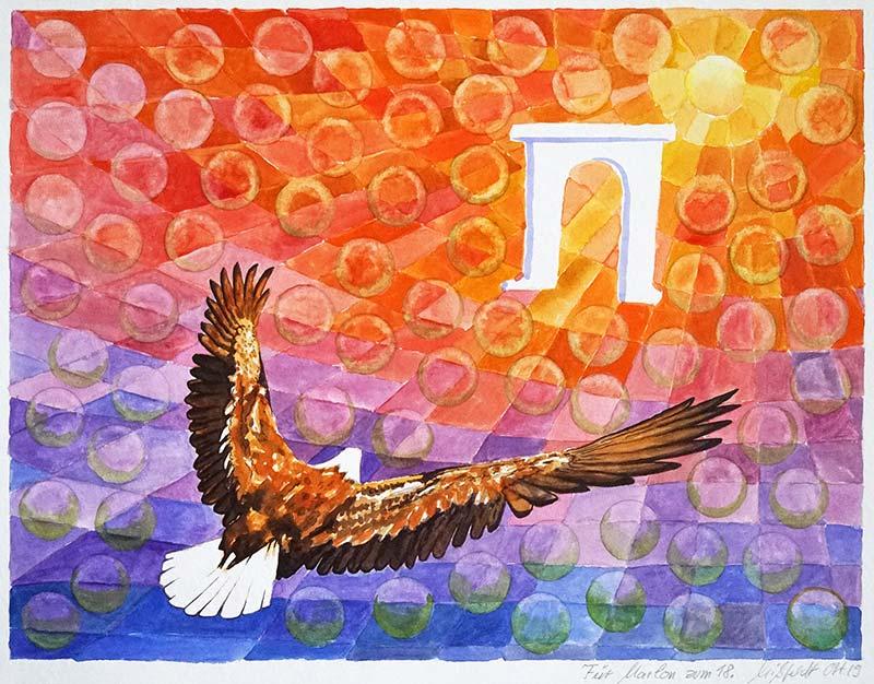 Eagle to Sun
