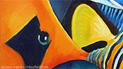 Fishes (cubism) (Detail 1)