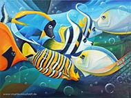 : Fishes (cubism)