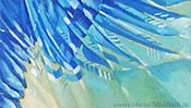 The falling Eagle (Oil painting) (Detail 5)